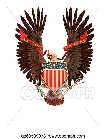 Clipart Usa Eagle Symbol Stock Illustration Gg60589978 Gograph