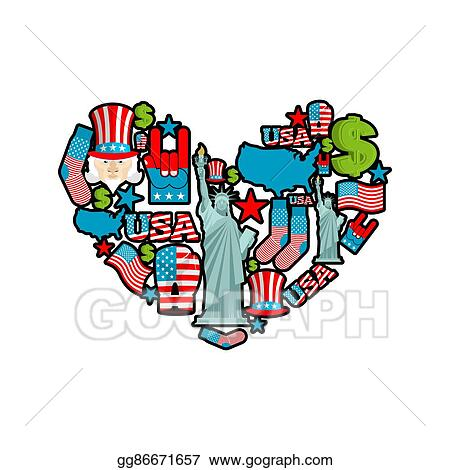 Vector Stock - Usa love. sign of united states ... on puerto rico dollar, kelsey dollar, bajan dollar, technology dollar, australia's dollar, singapore dollar, canadian dollar, snowflake dollar, 2014 us dollar, lizzie dollar, laos dollar, new taiwan dollar, us treasury dollar, professional dollar, world trade dollar, ruble dollar, us hundred dollar, argentine dollar, new zealand dollar, botswana dollar,