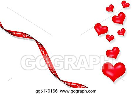 Drawing Valentine Greeting Card Clipart Drawing Gg5170166 Gograph