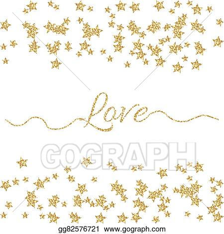 Clip Art Vector Valentines Day Glitter Shimmer Card Background