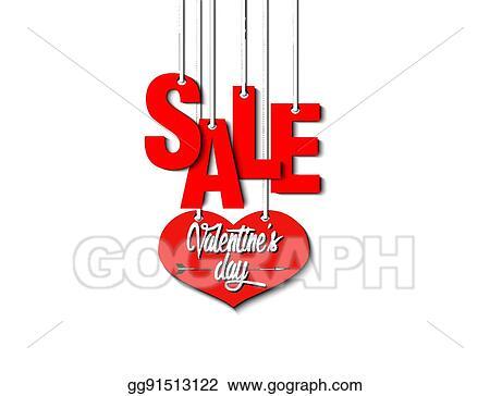 Vector Stock Valentine S Day Sale Stock Clip Art Gg91513122 Gograph