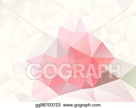 EPS Illustration - Vector abstract irregular polygon