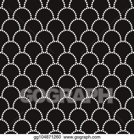 Vector Illustration Vector Abstract Seamless Wavy Pattern