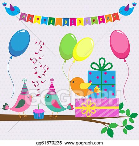 Doc500333 Vector Birthday Cards Free vector birthday card – Vector Birthday Card