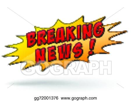 Vector Breaking News Icon