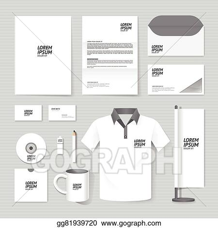 Eps illustration vector brochure flyer magazine folder t shirt vector brochure flyer magazine folder t shirtcover booklet poster mockup design template layout business stationery annual report a4 size set of maxwellsz