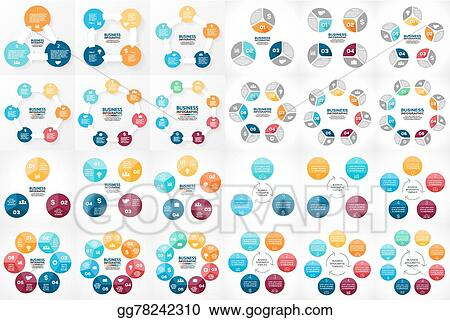Vector stock vector circle arrows infographic template for cycle vector circle arrows infographic template for cycle diagram graph presentation and round chart business concept with 3 4 5 6 7 8 options parts ccuart Choice Image