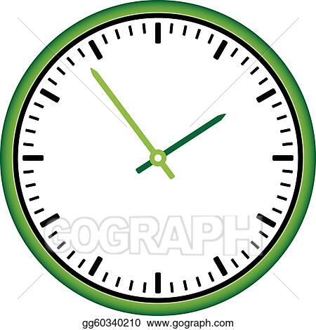 vector clipart vector clock face easy change time vector rh gograph com time change clip art free time change clipart free