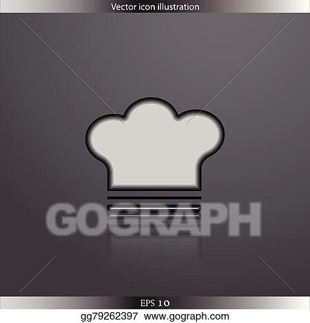 Vector Stock - Vector cooking cap web icon. Stock Clip Art ... 752348f49e1