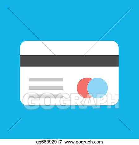 Eps Illustration Vector Credit Card Icon Vector Clipart
