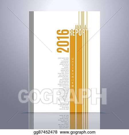Eps Vector Vector Design Template For Annual Report Book