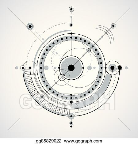 Vector Clipart - Vector engineering technological background ...
