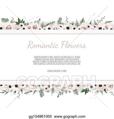 vector stock vector floral design card greeting postcard wedding