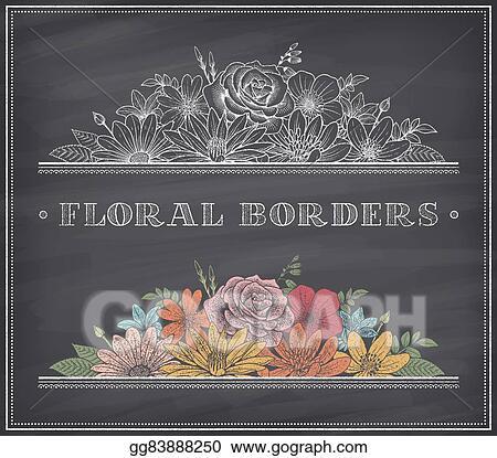 Qingming Blackboard Mid Autumn Festival Clip Art Flowers Corner Decoration  F2q95 Image Provided - EpiCentro Festival