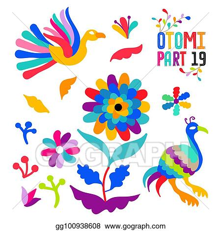 Mexican Floral Embroidery Patterns