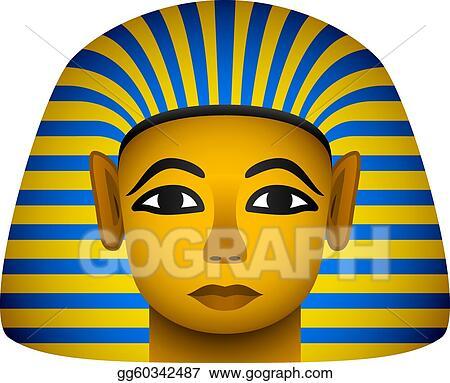 Pharaoh mask clipart — 2