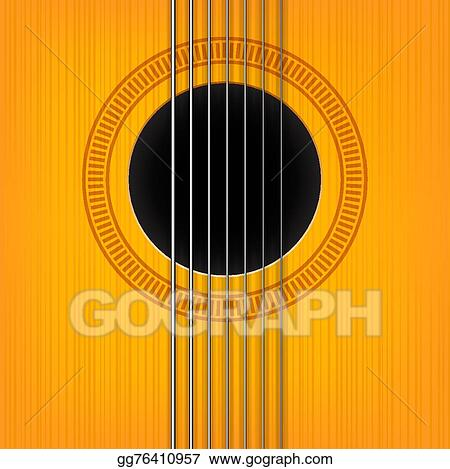 Vector Stock Vector Guitar Sound Hole Background Clipart Illustration Gg76410957 Gograph