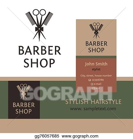 Vector Stock Vector Heraldic Logo For A Hairdressing Salon
