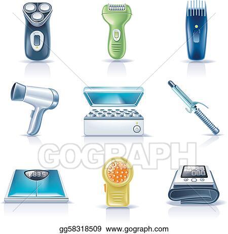 Vector Illustration Vector Household Appliances P 5 Eps Clipart Gg58318509 Gograph