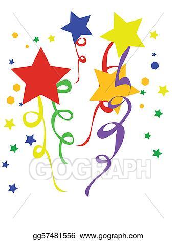 vector art vector illustration confetti clipart drawing rh gograph com confetti clip art free images confetti clipart black and white