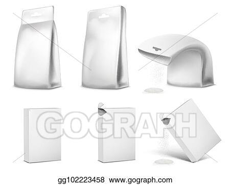 vector art vector illustration of packaging package design