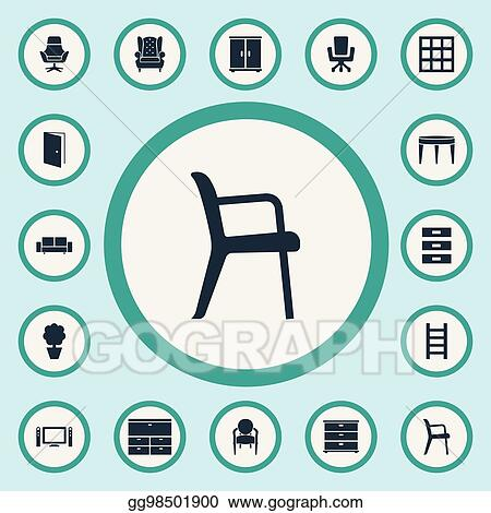 Vector Illustration   Vector Illustration Set Of Simple ...