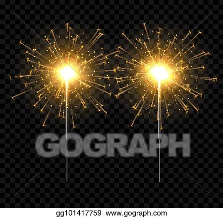 New Years Eve Fireworks Download Sparkler Clipart (#2328549) - PikPng