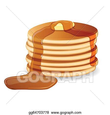 pancakes clip art royalty free gograph rh gograph com pancake clip art breakfast pancake clip art banners free