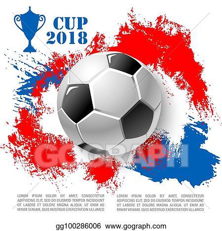 Vector Stock Vector Poster For Soccer Cup Or Football Club Stock Clip Art Gg100286006 Gograph