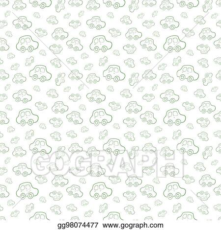 296368e22 Vector Stock - Vector seamless baby boy pattern background. boyish ...