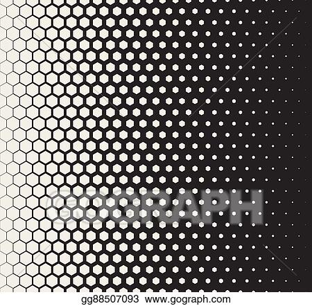 Clip Art Vector - Vector seamless black and white transition