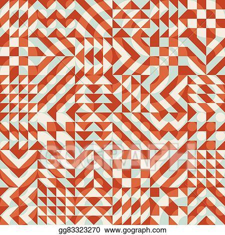 vector stock vector seamless color overlay irregular geometric