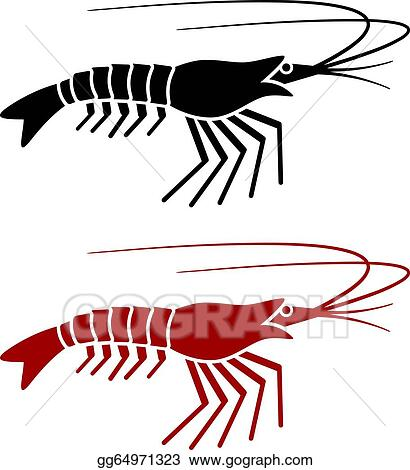 shrimp clip art royalty free gograph rh gograph com free clip art shrimp boil free cartoon shrimp clipart