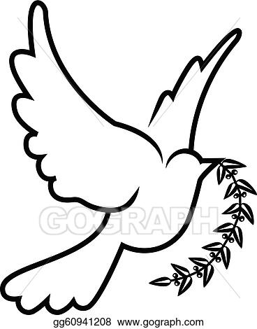 dove clip art royalty free gograph rh gograph com clip art dove of peace clip art doves border