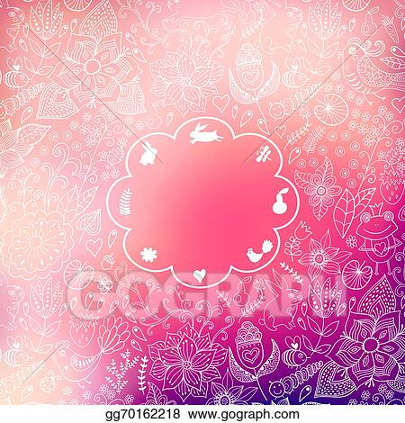 Vector Stock Vector Valentine S Day Background Blurred Template