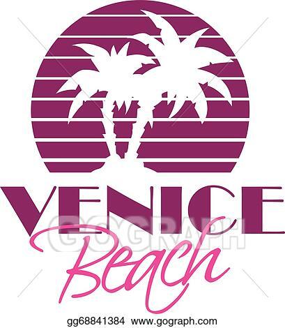 Vector Stock Venice Beach Clipart Illustration Gg68841384 Gograph