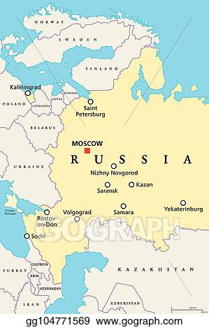 Clip Art Vector - Venues of football world cup in russia ...