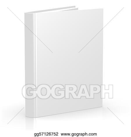 Illustration Commerciale Vide Vide 3d Couverture Livre