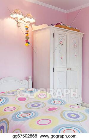 Stock Photo Vintage Mansion Girly Bedroom Stock Photography Gg67502868 Gograph