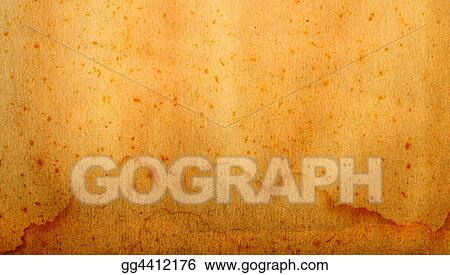 Stock Illustration Vintage Scrap Paper Clipart Gg4412176 Gograph