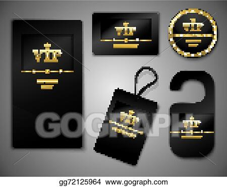 Vector stock vip cards design template stock clip art gg72125964 vip cards design template maxwellsz