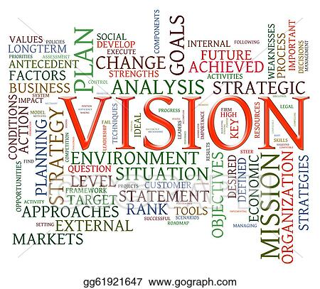 stock illustration vision word tags clipart gg61921647 gograph