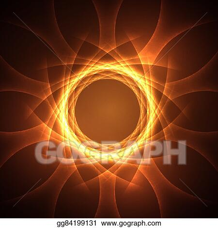 Clip Art Vector - Vortex magical energy  Stock EPS