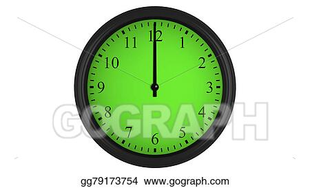 Stock illustration wall clock with a green 60 minutes time wall clock with a green 60 minutes time interval publicscrutiny Image collections