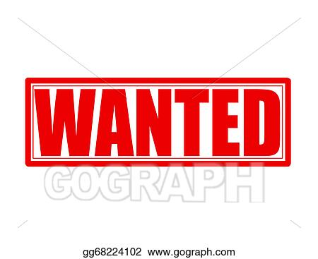 vector art wanted eps clipart gg68224102 gograph rh gograph com wanted poster clip art wanted poster clip art free