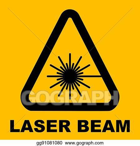 Vector Art - Laser icon isolated. EPS clipart gg99893877 - GoGraph