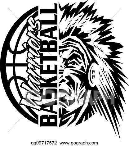 Vector Art Warriors Basketball Clipart Drawing Gg99717572 Gograph