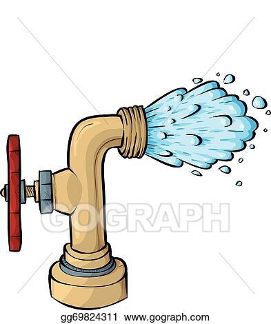 vector stock water faucet clipart illustration gg69824311 gograph rh gograph com water faucet clipart Water Bottle Clip Art