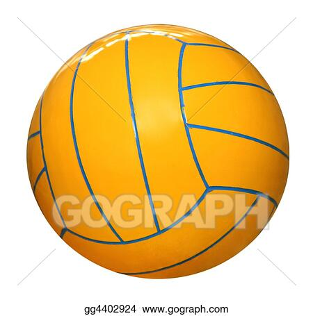 drawing water polo ball clipart drawing gg4402924 gograph rh gograph com