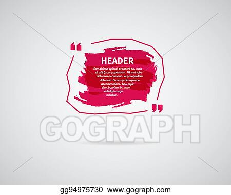 eps vector watercolor ink splash quote blank template quote
